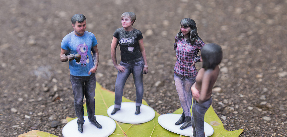 3D scan yourself with friends